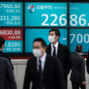 virus collapsing the stock market